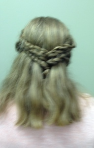 Bella hair-do