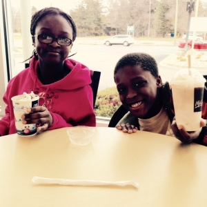 Elmise & Armon at McDonalds '15