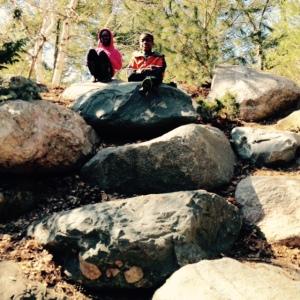 Elmise & Armon climbing
