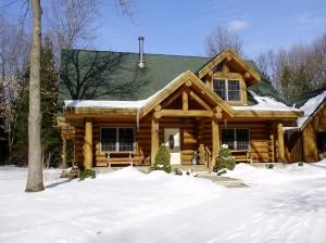 Beguhl's log home