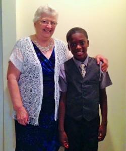 Grandma & Armon
