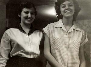 Lorraine & Anita as teens