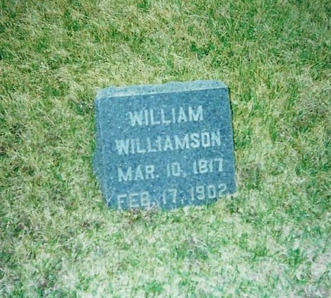 Grave of William Williamson (2)