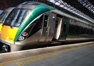 Ireland Modern train (2)