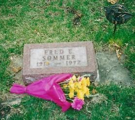 Fred Sommer grave